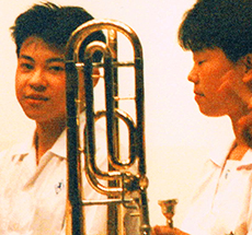 竹高器楽部演奏会
