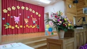 竹田幼稚園入園式