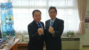 江本社長と土居昌弘