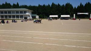 緑ヶ丘中学校体育祭