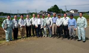 農林水産委員会の竹田調査、菅生地区1