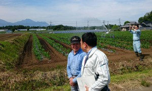 農林水産委員会の竹田調査、菅生地区2