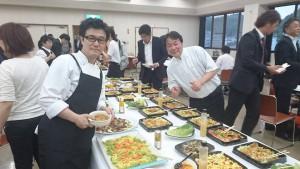 竹田シェフズミーティング調理者と料理