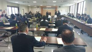 大分県乾椎茸品評会の表彰式1