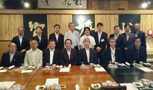 竹田市を所管する機関長の懇親会