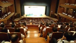 古庄玄知(こしょう はるとも)候補の個人演説会。001