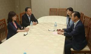 、自民党 稲田政調会長が応援に002