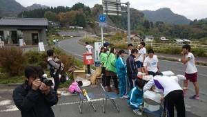 土居昌弘 竹田高校の第61回強歩大会。