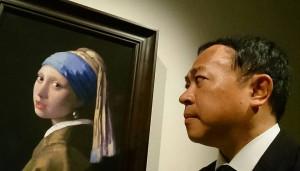 大分県議会 議員 土居昌弘 真珠の耳飾りの少女 フェルメール