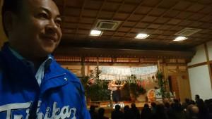 春の甲子園出場が決まった高千穂高校の生徒達