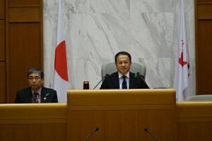 予算特別委員会の副委員長 大分県議会議員 土居昌弘