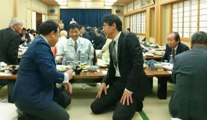 竹田地域土地改良推進協議会の新任職員歓迎会1