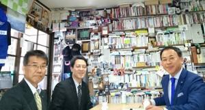 三重総合高校 中野校長、小俣副校長とで久住校の今後を打ち合わせ3