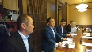 大分県議会総務企画委員会の竹田での調査01
