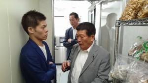大分県議会総務企画委員会の竹田での調査03
