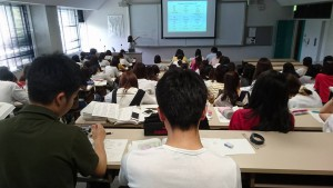 看護科学大学の講義
