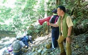 地層・岩石観察会2