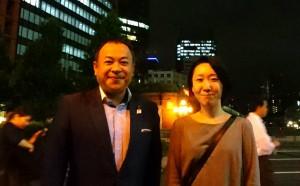 廣瀬武夫顕彰会で、お世話になっている田中さん