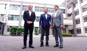 木田県議、森県議、そして私の同窓生トリオ