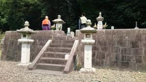 中川久定先生 岡藩中川家18代当主 菩提寺 碧雲寺のお墓2