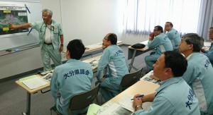 県議会常任委員会で日田市の豪雨災害調査