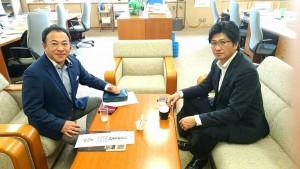 竹田高校の要望を県教育長に伝えました1
