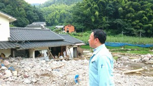 日田市の豪雨災害調査