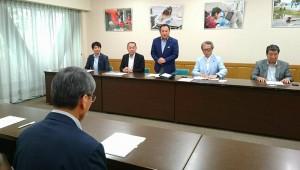 竹田高校の要望を県教育長に伝えました2