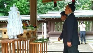 広瀬神社では年忌祭と平和祈願祭04