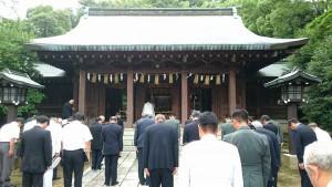 広瀬神社では年忌祭と平和祈願祭05