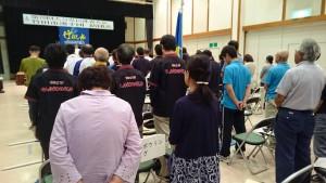 竹田市選手団結団式02