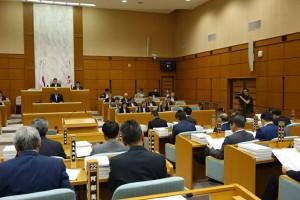 平成29年第3回目の大分県議会が開会01