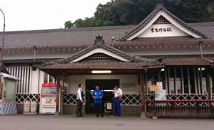台風18号の被害でJR豊肥本線が不通 代行バスが運行03