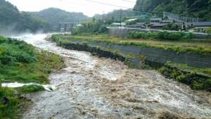 台風18号 被災状況 大分県 竹田市05