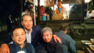 鏡天満社秋祭り1