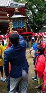 城原神社秋季大祭 大分県議会議員 土居昌弘 写真01