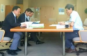 来年度県政予算の重点要望事項を精査