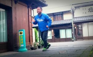 竹田町商店街 干し柿が軒下に並ぶ季節 大分県議会議員土居昌弘