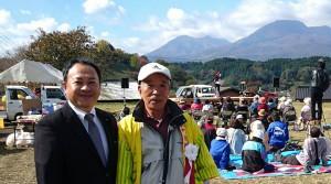 長湯ながの地区の祭り 大分県議会議員 土居昌弘