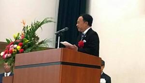 大分県立 竹田高等学校 創立120周年記念 祝賀会 大分県議会議員土居昌弘 01