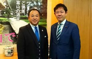 田畑厚労政務官と意見交換 大分県議会議員 土居昌弘