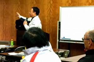 中九州横断道路朝地竹田間の現場見学会2 大分県議会議員 土居昌弘