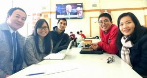 APUで活動するワークショップグループ「コンモンベッド」の学生達とミーティング  大分県議会議員 土居昌弘