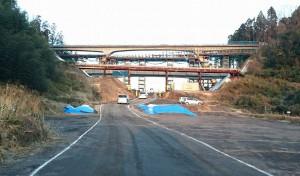石井国交大臣が中九州横断道路の建設現場に2 大分県議会議員 土居昌弘