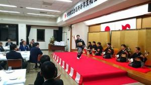 荻地域で新春を祝う会と竹田商工会議所新年互礼会2 大分県議会議員 土居昌弘