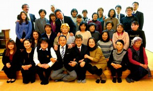 長湯の御沓さん自作娯楽室で、農業と福祉の連携を考える会議2 大分県議会議員 土居昌弘