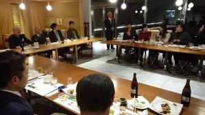 大分大学大学院経済学研究科セミナーの講師渡邊教授2 大分県議会議員 土居昌弘