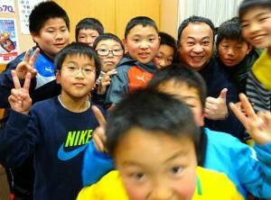 竹田直入FCの小5以下の会議 6年生をいかに送り出すかを話し合い2 大分県議会議員 土居昌弘