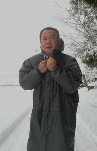 降雪の状況を確認 大分県議会議員 土居昌弘
