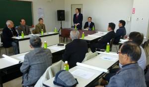 自由民主党鶴見支部と米水津支部 大分県議会議員 土居昌弘